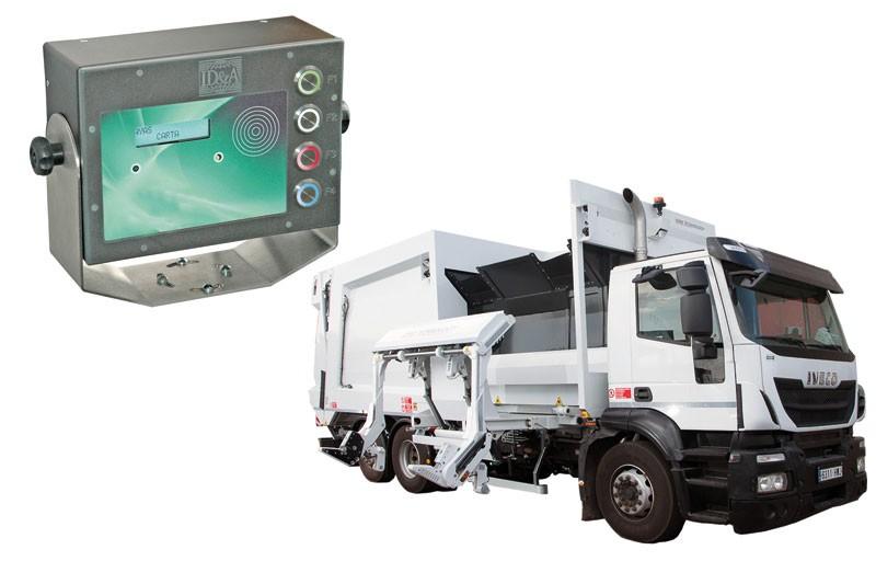 Georeferenziazione GPS, scambio dati con contenitori, rilevazione eventi