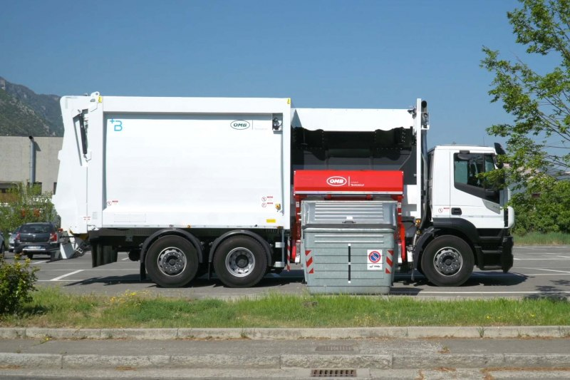 Side loader compactor Heavy - CMPL7ETSA